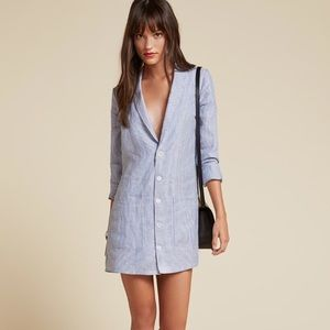 Reformation Sparer Blazer Mini dress Size S